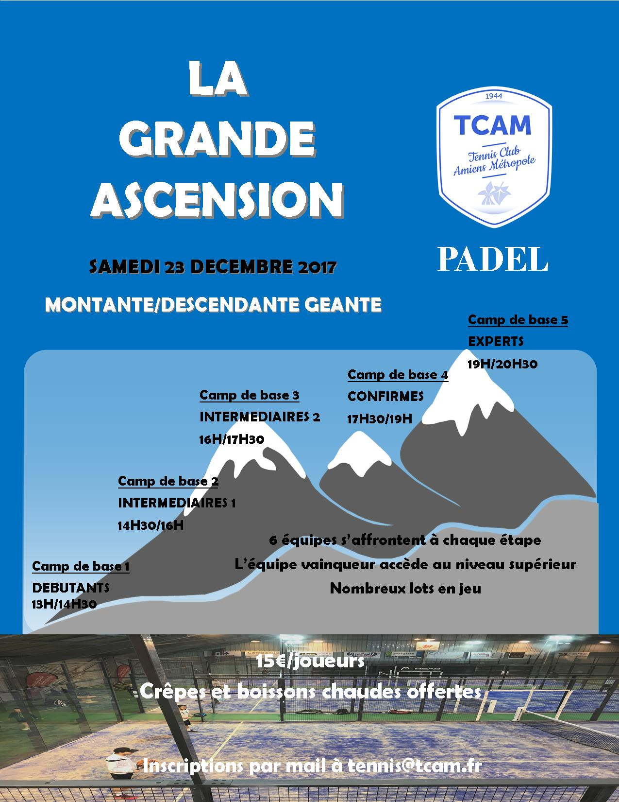 Affiche la grande ascension